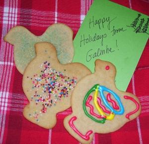 Galinhan Christmas delicacy