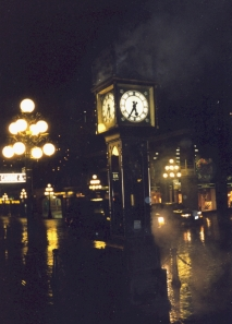 Steam clock in Vancouver, which for some reason always makes me think of Dr. Who.